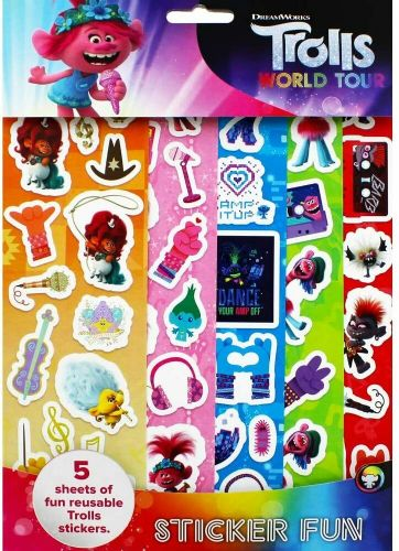 DreamWorks Trolls World Tour Sticker